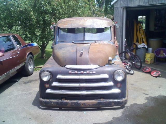1950 Dodge Pilot house pick up rat rod