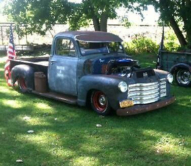 1952 Chevy rat rod pick up