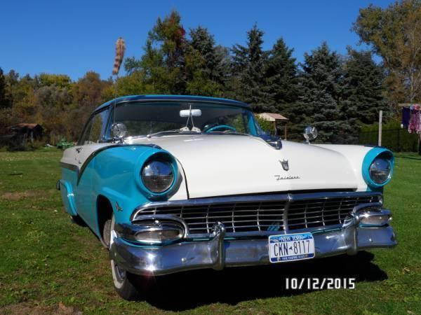 1956 Ford Victoria 2DR HT for sale (NY) -