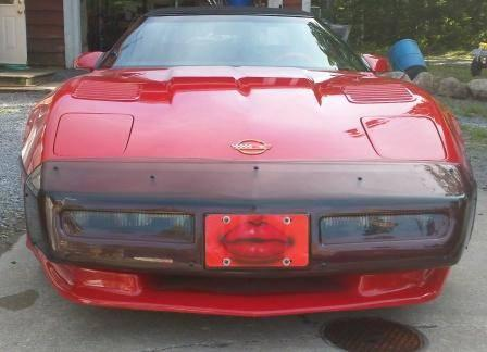 1987 RED Corvette Convertible