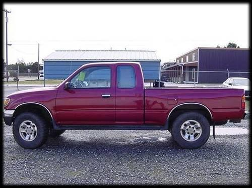 1996 toyota tacoma extra cab pickup at 4x4 in port orford oregon new york daily ads. Black Bedroom Furniture Sets. Home Design Ideas