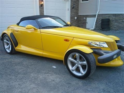 1999 Plymouth Prowler Convertible Roadster 2D