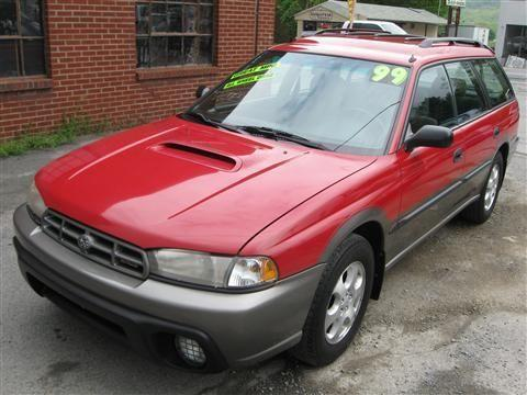1999 Subaru Legacy Wagon Outback Wagon 4D