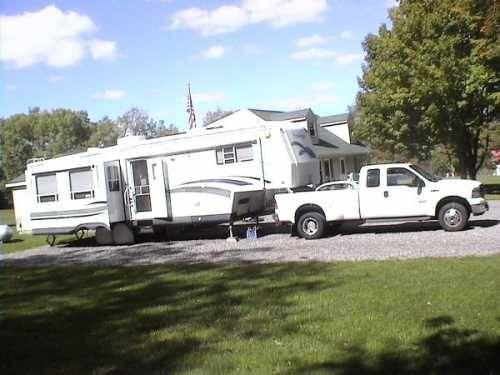 2001 Holiday Rambler Presidential 5th Wheel In Elbridge