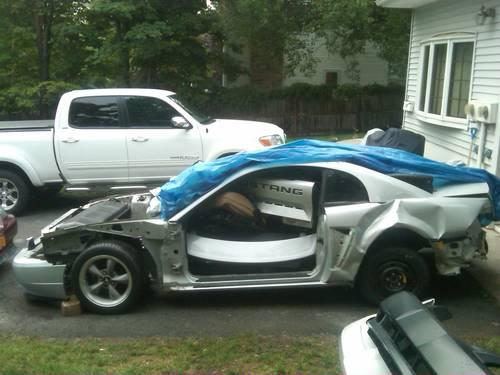 2002 Mustang GT Parts and shell