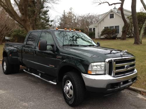 2003 ford f350 super duty lariat 4x4 diesel crew cab dually in east setauket new york new. Black Bedroom Furniture Sets. Home Design Ideas