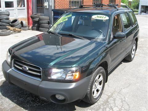 2003 Subaru Forester SUV X Sport Utility 4D
