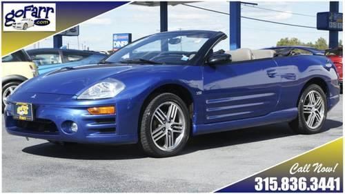 2005 mitsubishi eclipse spyder gts convertible leather v6 save in glen park new york new. Black Bedroom Furniture Sets. Home Design Ideas