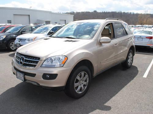 2007 mercedes benz m class suv 4x4 ml350 in new hampton for 2007 mercedes benz m class ml350