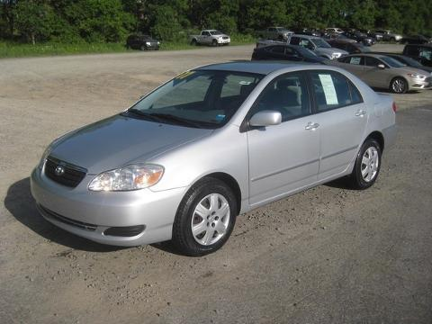 2007 Toyota Corolla 4 Door Sedan
