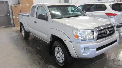 2008 Toyota Silver Tacoma ? 4X4 ExCab