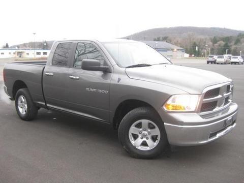 2011 DODGE RAM 1500 4 DOOR CREW CAB SHORT BED TRUCK