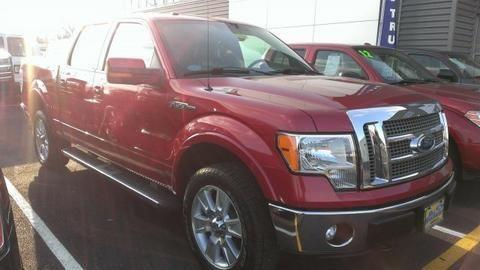 2011 FORD F-150 4 DOOR CREW CAB SHORT BED TRUCK