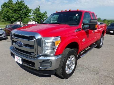 2011 Ford F-350 4 Door Extended Cab Truck