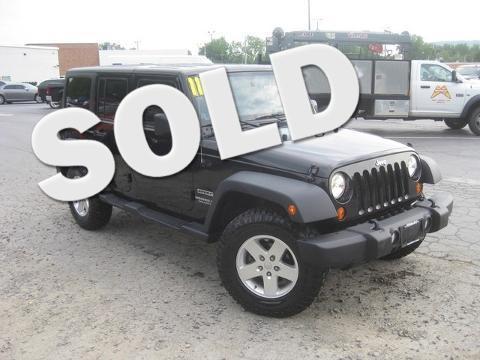2011 Jeep Wrangler Unlimited 4 Door SUV