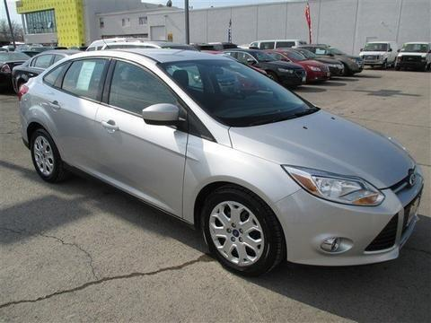 2012 FORD FOCUS 4 DOOR SEDAN