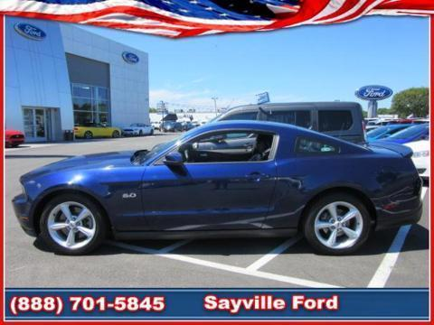 2012 Ford Mustang 2 Door Coupe Rear-Wheel Drive with Limited-Slip Di