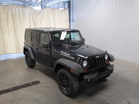 2012 Jeep Wrangler Unlimited 4 Door SUV