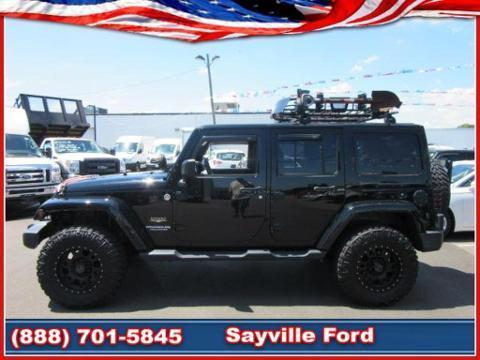 2012 Jeep Wrangler Unlimited 4 Door SUV Four-Wheel Drive
