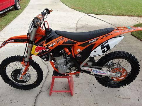 2012 KTM 450 SX-F Factory Edition Dungey Replica