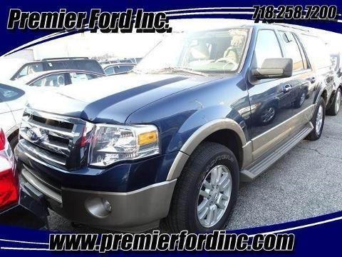 2013 FORD EXPEDITION EL 4 DOOR SUV