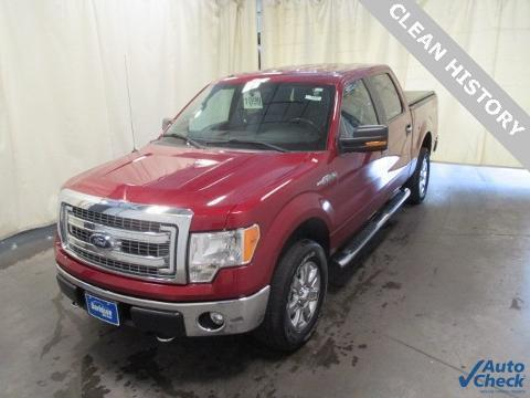 2013 Ford F-150 4 Door Crew Cab Short Bed Truck