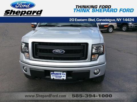 2013 Ford F-150 4 Door Crew Cab Short Bed Truck