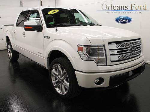 2013 ford f 150 4d crew cab limited in medina new york new york daily ads. Black Bedroom Furniture Sets. Home Design Ideas