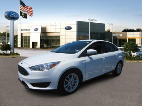 2015 Ford Focus 4 Door Sedan Front-Wheel Drive with Limited-Slip D