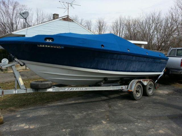 86 Four Winns Santara/Liberator Chevy 350 Nice project boat W/trailer