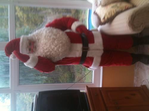 Antique 7ft Santa Claus