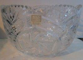Fifth Avenue Crystal Salad Or Punch Bowl NEW