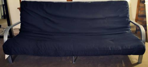 Futon Bed, Full Size Mattress (does not fold into futon anymore)
