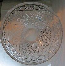 Galway Clear Glass Punch Or Salad Bowl NEW
