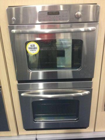 GE Stainless Steel Double Oven