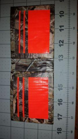 handmade duct tape men's camo bifold wallet