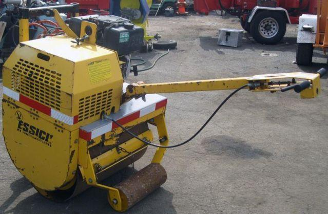 Essick walk behind asphalt paving roller compacto for Essecke roller