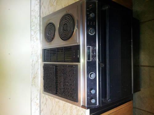 Mid Century Modern Oven ~ Jenn air down draft range oven stove mid century rare
