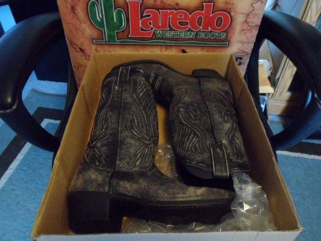 Mens Laredo Western Boots Size 9 BN