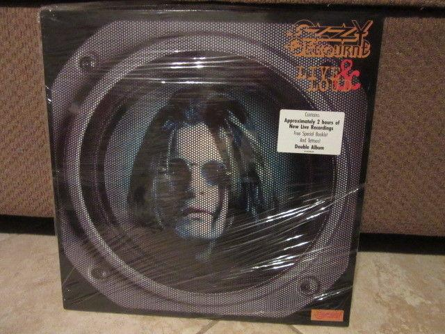 Ozzy Osbourne Live and Loud 2 lp's Sealed