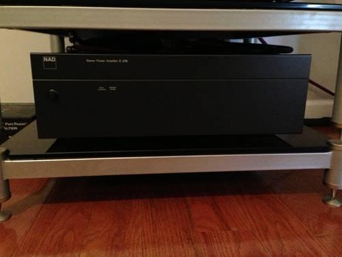 Pair of NAD Stereo Amplifiers for Sale