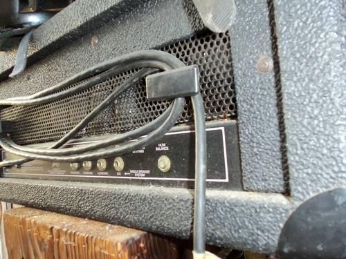 peavey professional amplifier butcher vintage