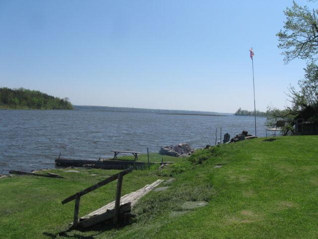 PILLAR POINT: 300' OF WATERFRONT PROPERTY W/ COTTAGE
