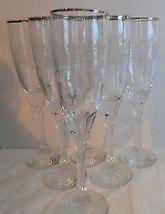 Set Of 6 Galway Irish Crystal Twist Stem Claddagh Glassware NEW