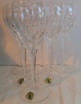 Set Of 6 Waterford Sheridan Goblets 8