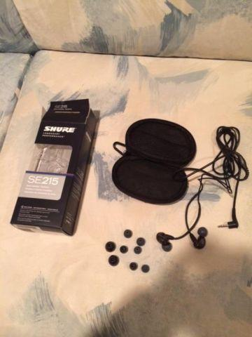 Shure se215 Noise Cancelling Ear Buds