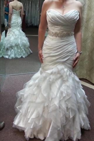 Sottero & Midgley Sloan wedding gown with alterations
