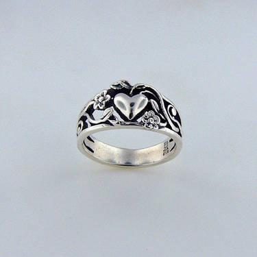 Sterling Silver James Avery Texas Ring