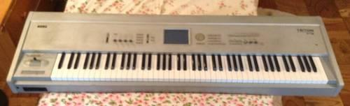 Triton Le Keyboard with Sampler For Sale