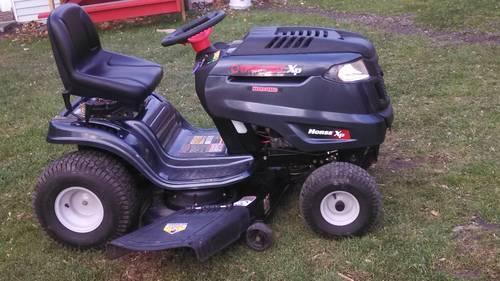 troy bilt riding mower 46 inch cut
